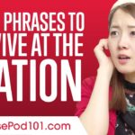 Top 10 Phrases to Survive at the Station in Japan