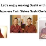 Twin Japanese Sushi chefs  双子の女板前