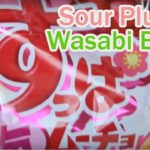 Weird Japanese Chips and Drinks Review || Wasabi-Beef, Sour Plum, Creamy Lemon and more