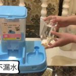 2 in 1 Japanese Style Auto Pet Food & Water Feeder Dispenser