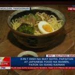3-in-1 dish na may goto, papaitan at Japanese food na ramen, patok sa isang kainan