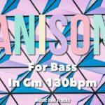 ANISON JAM For【Bass】CMinor 130bpm BackingTrack 90's Japanese Anime Song