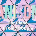 ANISON JAM For【Piano】CMinor 130bpm BackingTrack 90's Japanese Anime Song