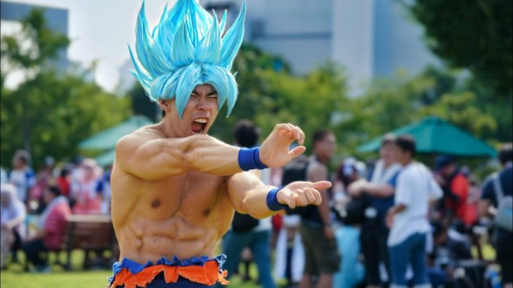 Best Anime Cosplay Japan 2018 Ssj Blue Goku Cosplay Sense Of Japan