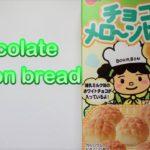 Bourbon Japanese Chocolate melon bread./ブルボン チョコメロ~ンぱん