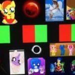 Caramelldensen: Japanese anime music video: led lighting Version