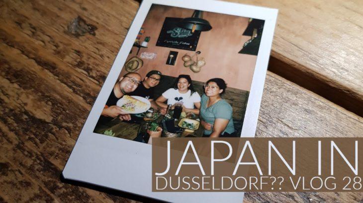 Düsseldorf and Japanese food? YES! Vlog 28