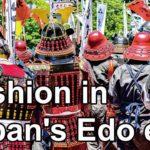 Fashion in Japan's Edo era | kimono Kabuki actors | Japanese history