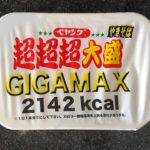 GIGAMAX JAPANESE 2142 KCAL INSTANT RAMEN  NOODLE