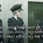 Japanese Anime Hitler Rants About Downfall Hitler