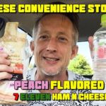 Japanese Convenience Store Run Ep 04 Ilohas Peach Water – Red Chili Noodle Chips