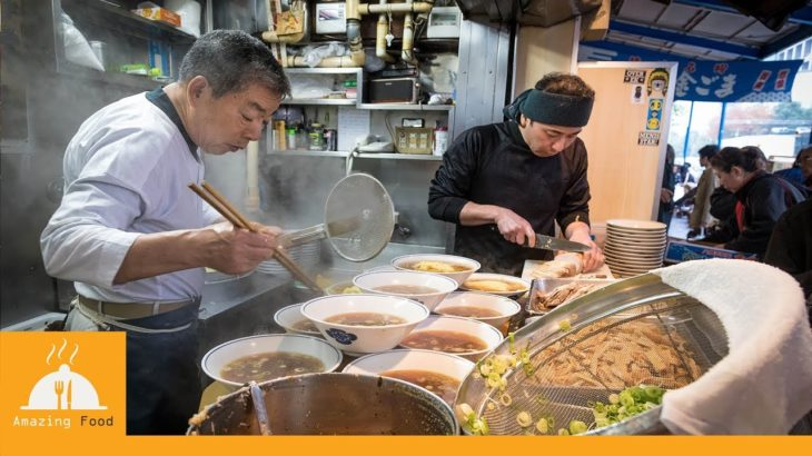 Japanese Street Food Tokyo – Chuka Soba Inoue Tsukiji| Amazing Food