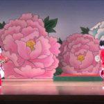 日本舞踊 花柳流 長唄「胡蝶」 竜之介 彩乃 Japanese dance butterfly kabuki dance