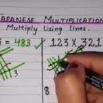 Japanese students learning multiplication
