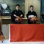 Japanese traditional arts Kabuki 歌舞伎 囃子 下座音楽 着倒