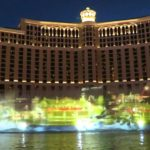 Kabuki lands at Bellagio Fountains with a splash  歌舞伎 Bellagioホテル 噴水ショー