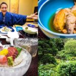 LUXURY JAPANESE FOOD – Multi-course Kaiseki at Traditional Onsen Hotel in Hakone, Japan!