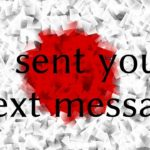 Learn Japanese – I sent you a text message.