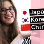 Learning Korean, Japanese & Chinese together | Comparison + tips