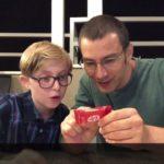 My 11 Years Old Cousin Trying Japanese Umeboshi and KitKat   | Yael & Roy's Mania
