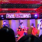 Rock, samurais & geishas. Modern Kabuki Dance EDO Festival Tokyo Airport ロック、サムライ、そして芸者。 江戸フェスティバル東京