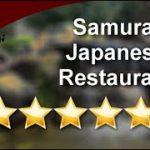 Samurai Japanese Restaurant – Customer Review – Happy Hour Japanese Food