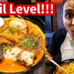 THE SPICIEST RAMEN in Tokyo at Karashibi Kikanbo – DEVIL LEVEL Japanese Food!