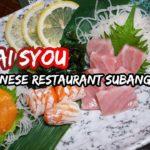 Tai Syou Japanese Restaurant Subang SS15