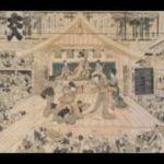 The history of kabuki theatre