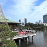 【Tokyo Sightseeing#11】Japanese Garden Walk#3/Hama-rikyu Garden (浜離宮庭園)/Chuo-ku, Tokyo