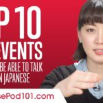 Top 10 Life Events You Should be Able to Talk About in Japanese