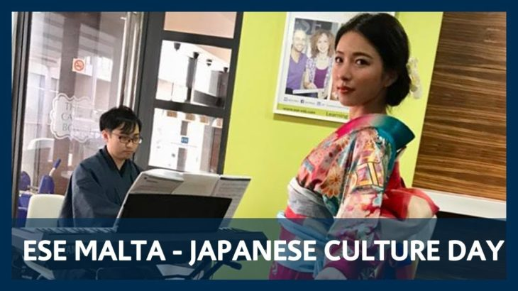 Wabunka no Kai – Japanese Culture Day at ESE Malta, January, 3, 2018