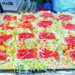 japanese street food – OKONOMIYAKI お好み焼き