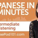 51 Minutes of Intermediate Japanese Listening Comprehension