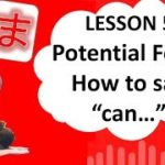 "# 56 Learn Japanese – Potential Form (How to say ""can do, can buy, can speak etc."") できます、かえます etc."
