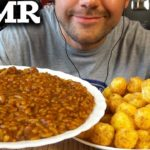 ASMR Japanese Food: Rice Curry and Corn Balls (Relaxing Eating Show) MUKBANG 먹방 *No Talking*