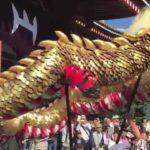 Asakusa Japan Sightseeing Tour Dance of the gold dragon