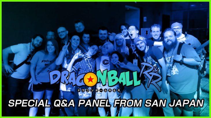DRAGONBALL R&R Q&A PANEL   San Japan Anime Con 2018