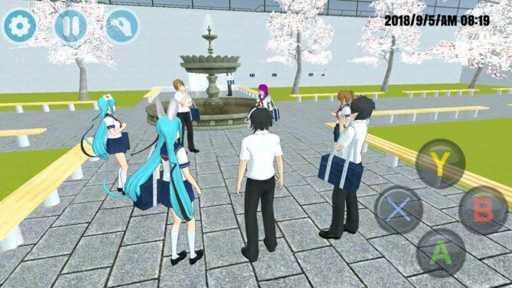 High School Simulator 2018 #2 – Japan High School Anime Game – Android Gameplay FHD