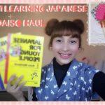 How I am Learning Japanese+Daiso Haul