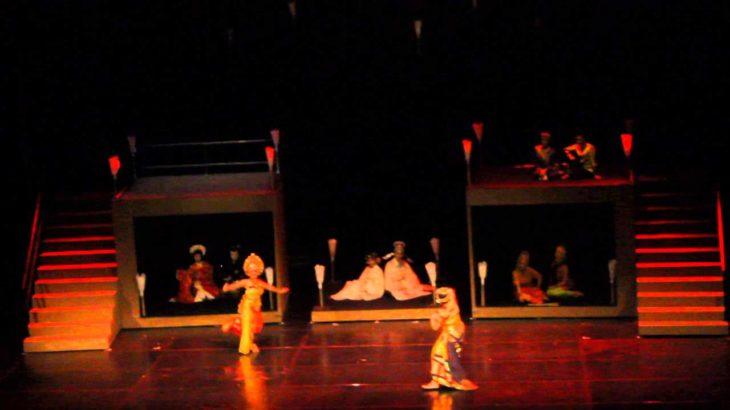 Indonesia ft Japan's dance Kabuki Teater Jakarta