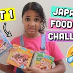 JAPANESE FOOD KIT CHALLENGE! PART 1 | Inspiring Vanessa