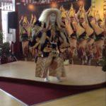 Japanese Kabuki Performance – lion dance. FRONT ROW