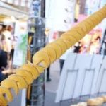 "Japanese Street Food "" Longest Tornado Potato in Japan "" 日本一長いポテト"