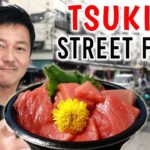 Japanese Street Food Tour TSUKIJI FISH MARKET