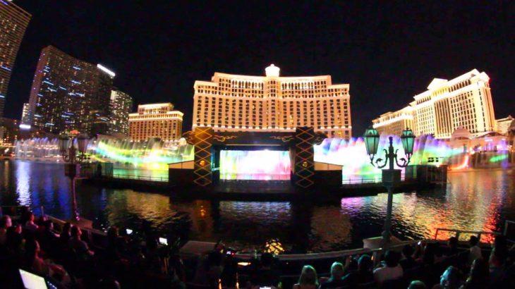 Kabuki Show at Bellagio Fountains in Las Vegas