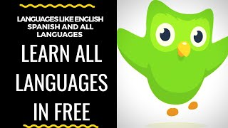 Learn All languages in free learn English,  Spanish,  Chinese,  Japanese #Learn all languages#