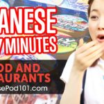 Learn Japanese in 37 Minutes – ALL Food and Restaurants Phrases You Need