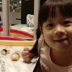 Nana enjoyed her japanese food