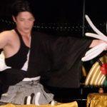 Syan Balloon Artist kabuki style+lion dance@Tokyo